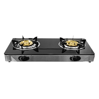 Picture of CHELSTAR GLASS TOP DOUBLE BURNER COOKER