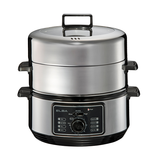Picture of ELBA 6L STAINLESS STEEL FOOD STEAMER, EFS-F6023SS