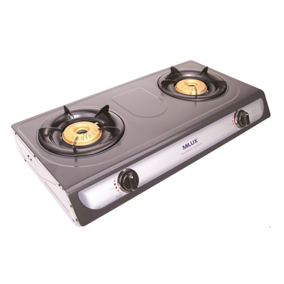 Picture of MILUX DOUBLE BURNER GAS COOKER, YS-3030B