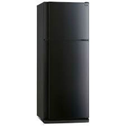 Picture of MITSUBISHI 420L 2-DOOR FRIDGE SHINY BLACK, MR-F47G/SB