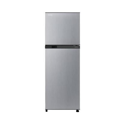 Picture of TOSHIBA 2-DOOR 290L INVERTER FRIDGE SILVER COLOR, GR-M28MBZS