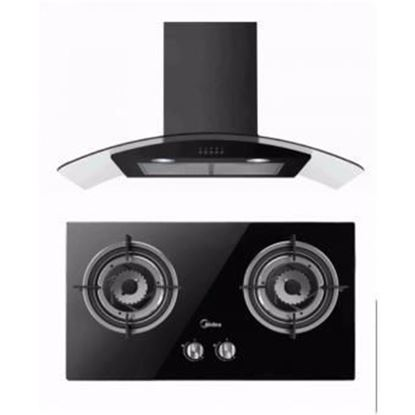 Picture of MIDEA CHIMNEY HOOD + GAS HOB SET, MCH-90MV1