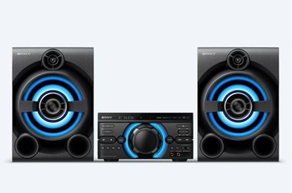 Picture of SONY HIGHPOWER AUDIO SYSTEM-THREE BOX HIFI,  MHC-M60D