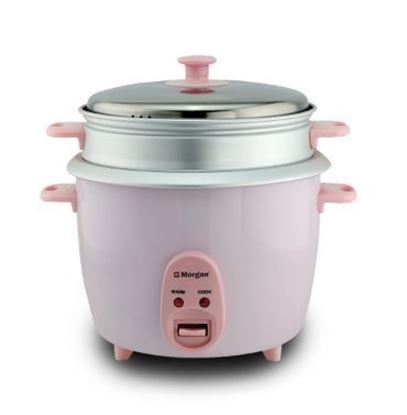 Picture of MORGAN 1.8L RICE COOKER WITH STEAMER, MRC-TC18