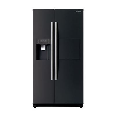 Picture of DAEWOO 608L SIDE BY SIDE FRIDGE BLACK COLOUR, FPN-X608FB