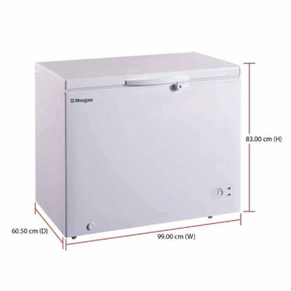 Picture of MORGAN 200L DUAL FUNCTION FRIDGE & FREEZER, MCF-2257L