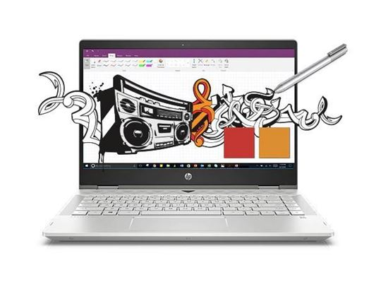 Picture of HP PAVILION X360 SUPER THIN CONVERTIBLE LAPTOPS PC , 14-CD1061TX