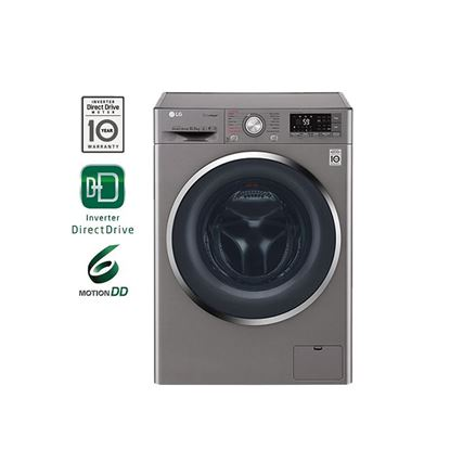 Picture of LG 10.5KG 6 MOTION DIRECT DRIVE WITH TRUESTEAM FRONT LOAD WASHING MACHINE, FC1450S2E